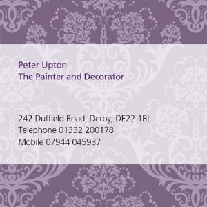 Peter Upton, the painter and decorator