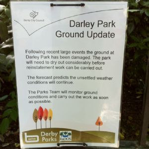 Darley Park ground update